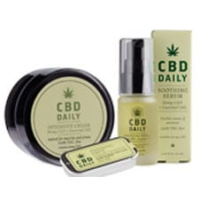 CBD Daily- soothing salve, soothing serum, intensive cream